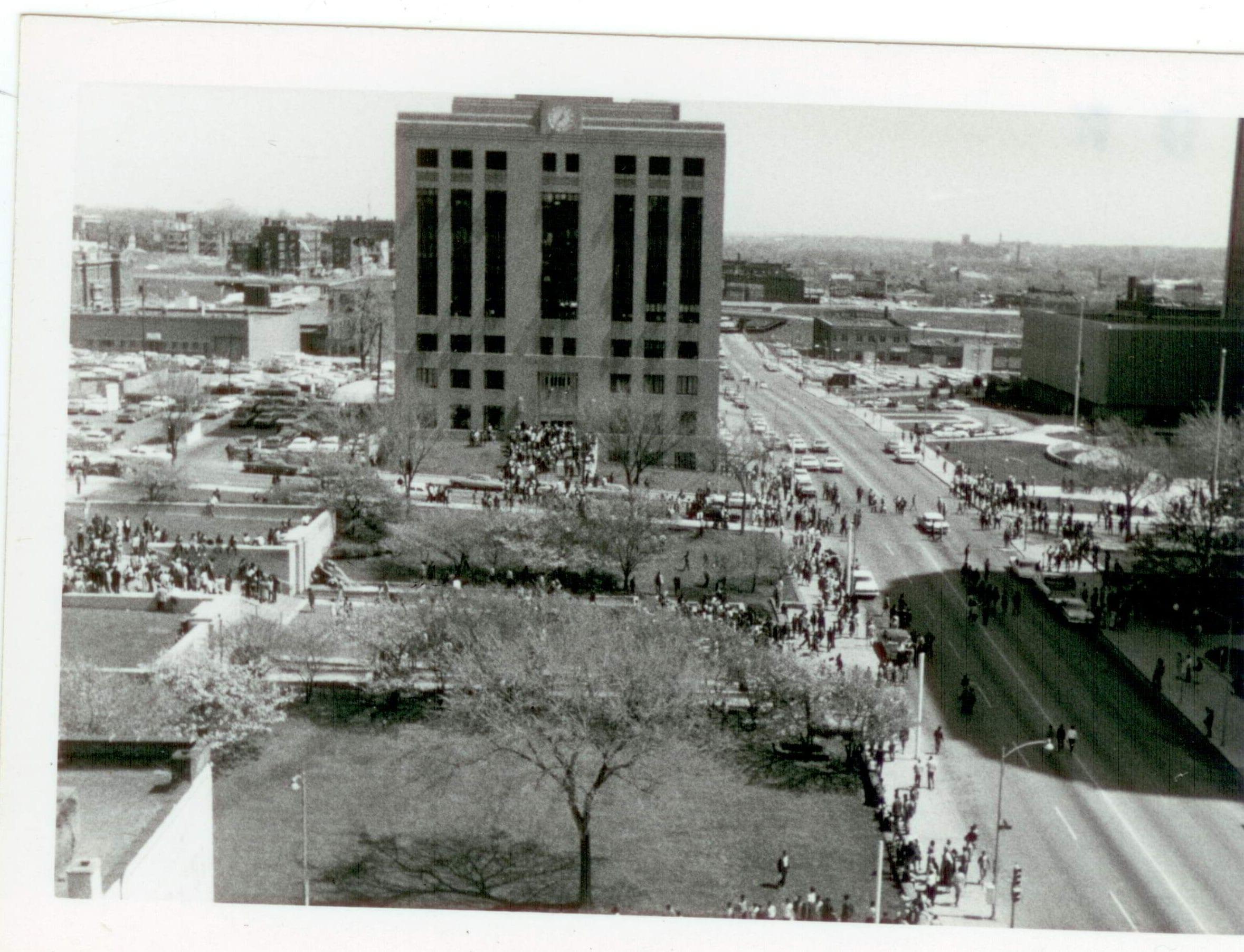 Kansas City 1968 Photos Of Mlk Assassination Protest Found
