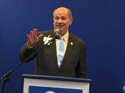 Dr. Randall L. O'Donnell, president and CEO of the Kansas City-based pediatric hospital, announced the name change at a news conference last week. (Photo: Dan Margolies   Heartland Health Monitor)