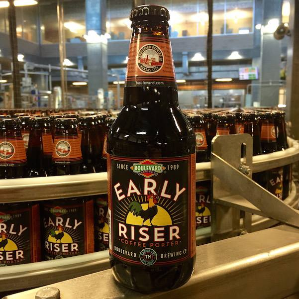Early Riser, a collaborative coffee porter from Maps Coffee Roasters and Boulevard Brewing Company, is slated to be released in January. (Credit: Boulevard)