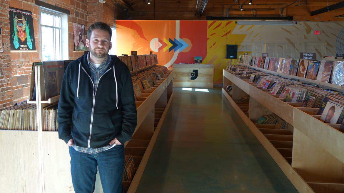 Christian Labeau, manager and buyer for Josey Records, says the vinyl market isn't as niche as it used to be. (Photo: Dan Calderon | Flatland)