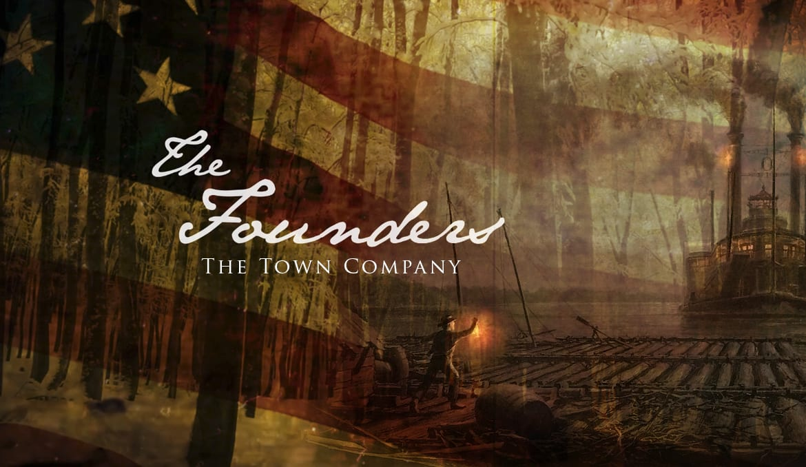 Cover image for The Founders series, The Town Company