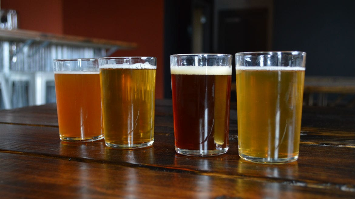 Double Shift Brewing Company turns one this weekend (Photo: Jonathan Bender I Flatland).