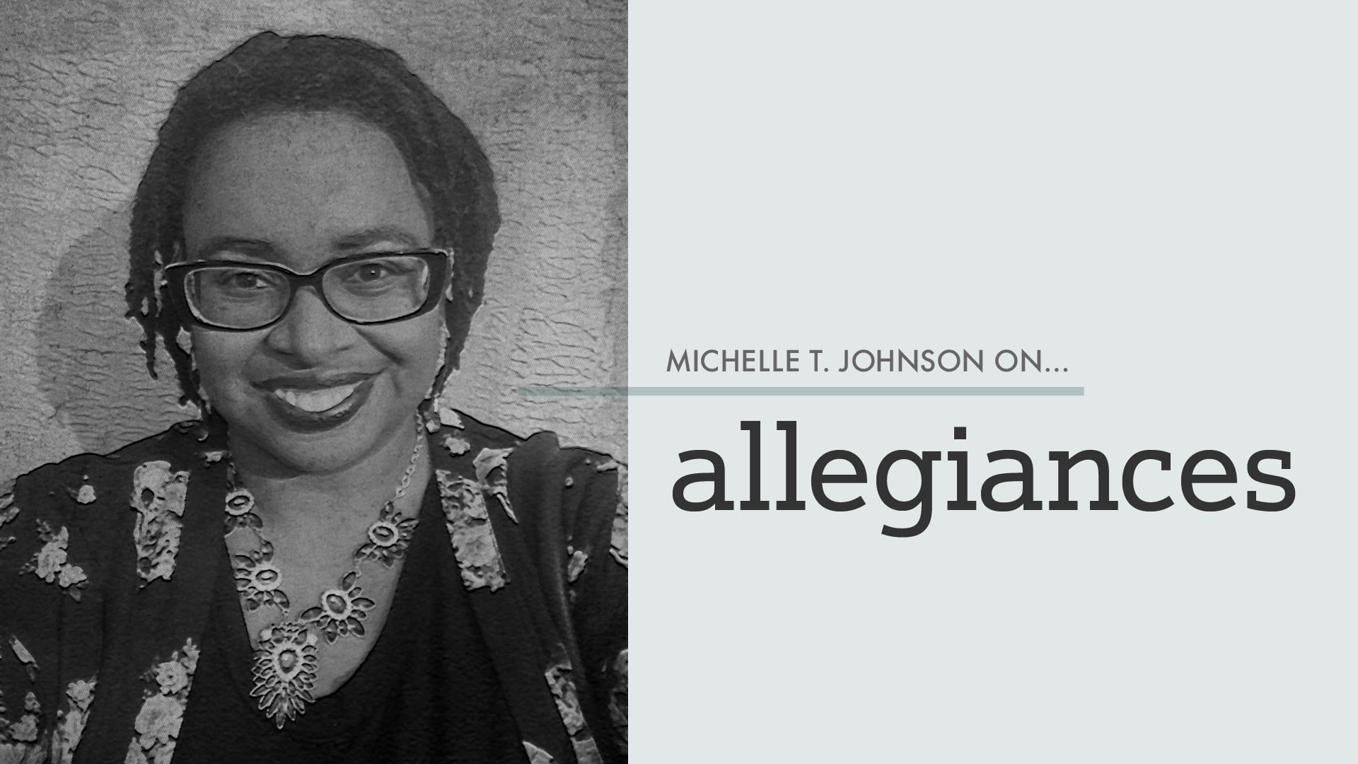 """Cover art for commentary stating """"allegiance"""""""