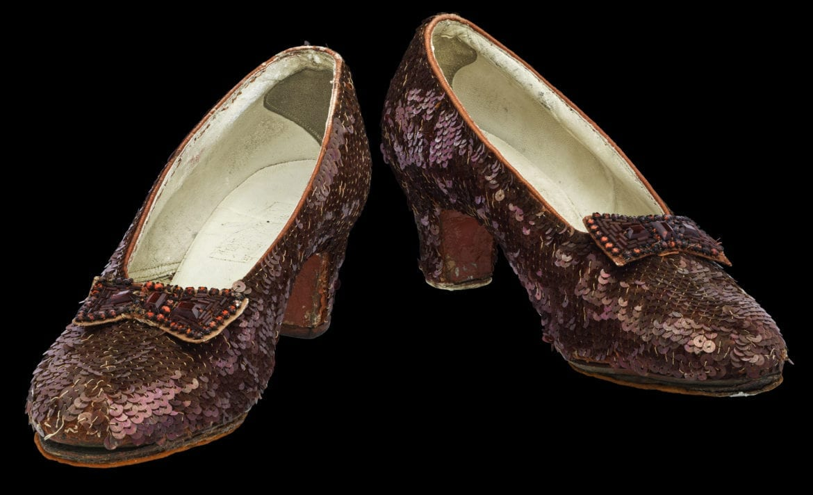 Dorothy's fading red slippers saved by $300000 in crowdfunding