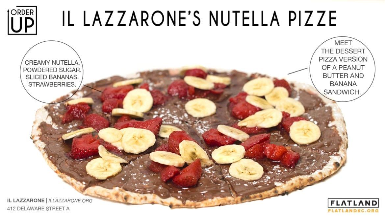 il lazzarone's nutella pizze