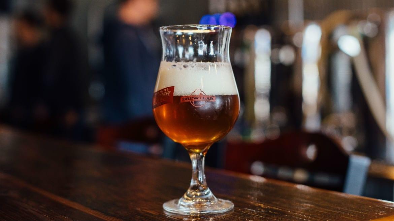 Brew Lab beer