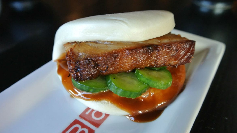 pork belly steamed bao