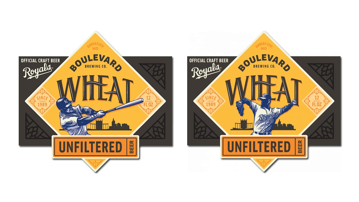 new Unfiltered Wheat labels