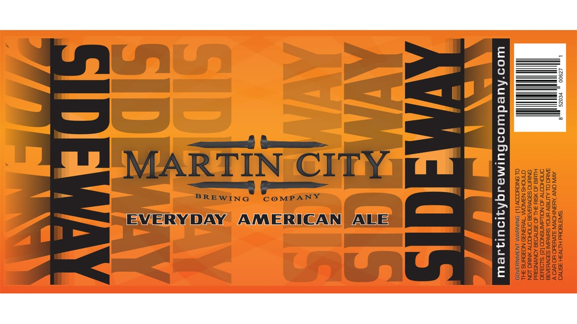 Sideway is Martin City Brewing Co.'s new American Ale