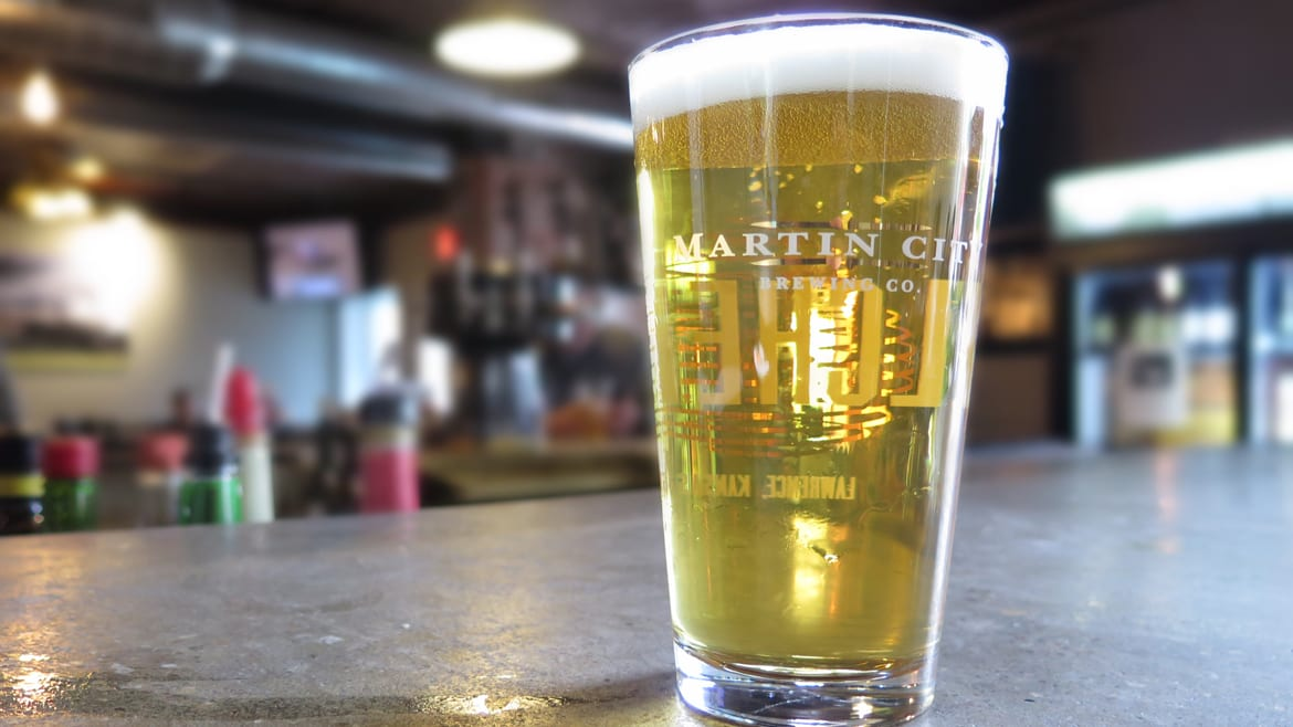 Martin City Brewing Company's Pants Off Dance Off