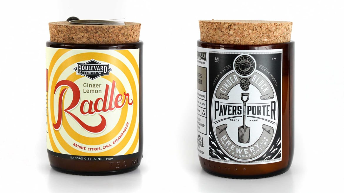 Barley & Hops candles