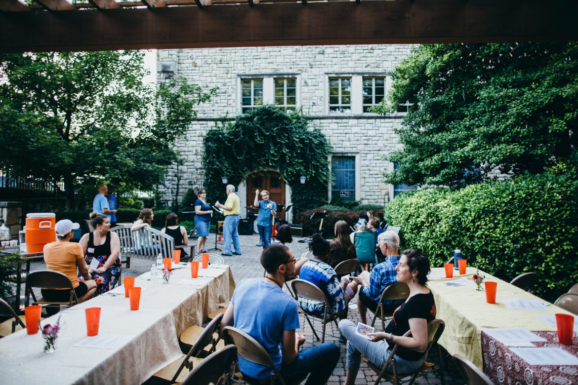 Open Table gathering at Second Presbyterian