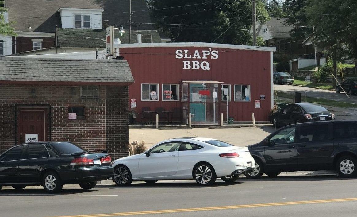 Slap's BBq building.