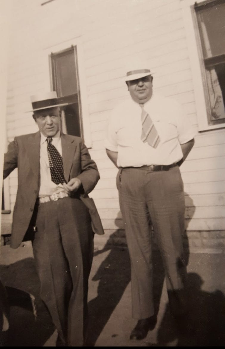 2 men in suits in 1943