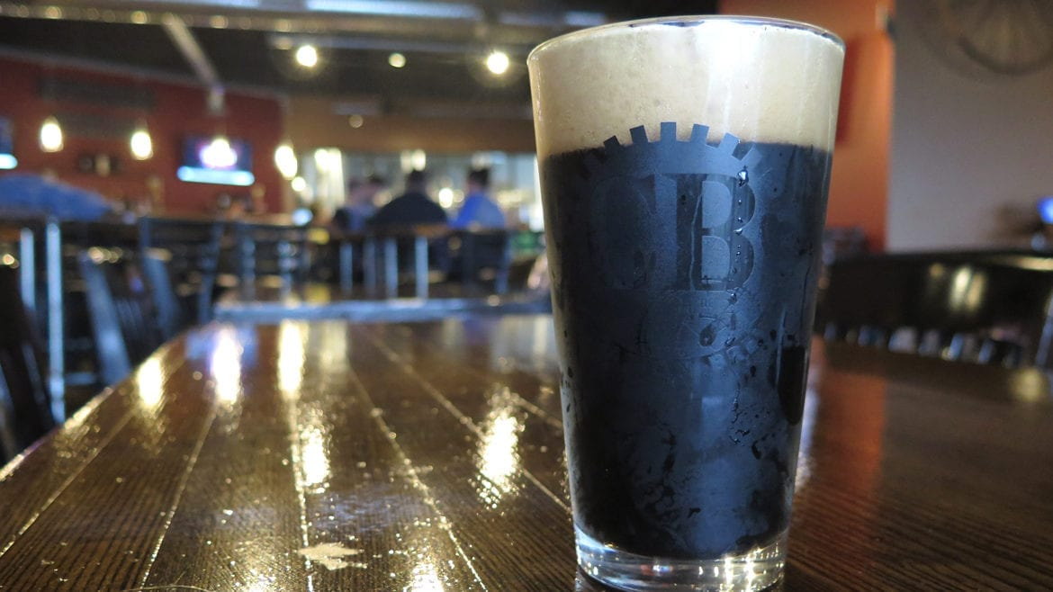 Calibration Brewery's Back to Black IPA