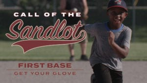 First Base: Get Your Glove