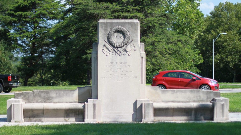 confederate monument in kansas city