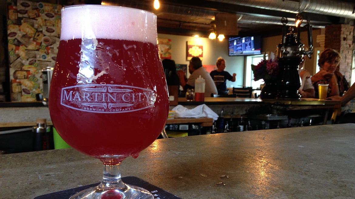 Martin City Brewing Company's Pinkies Up