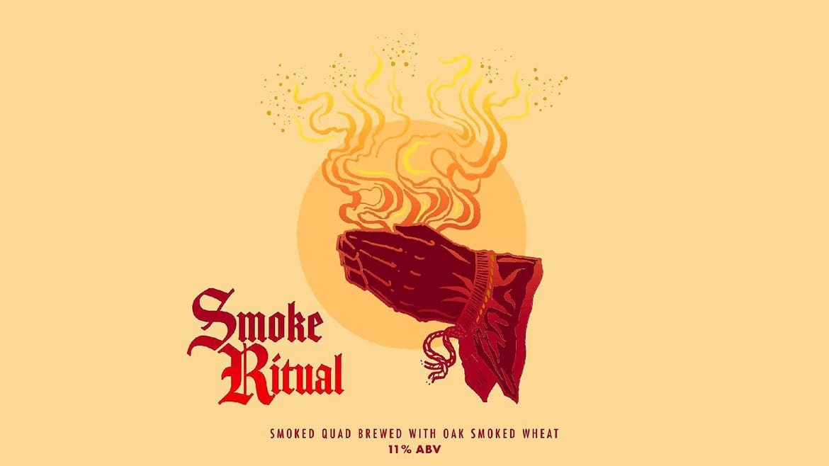 Smoke Ritual beer logo