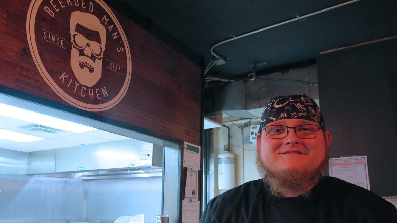 Jason Fritz runs Beerded Man's Kitchen