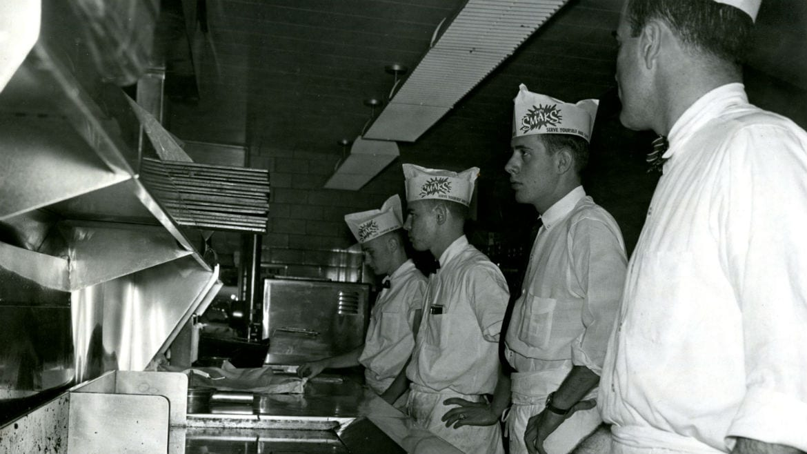 quartet of burger chefs