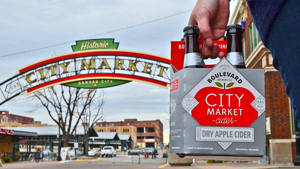 Boulevard Brewing's City Market Cider