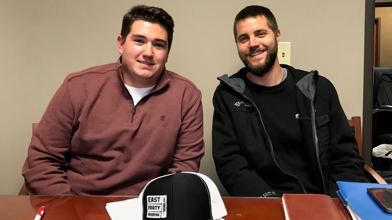 Matt Bryan (left) and David Mann