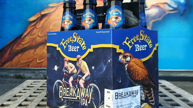 Free State Brewing Breakaway IPA.