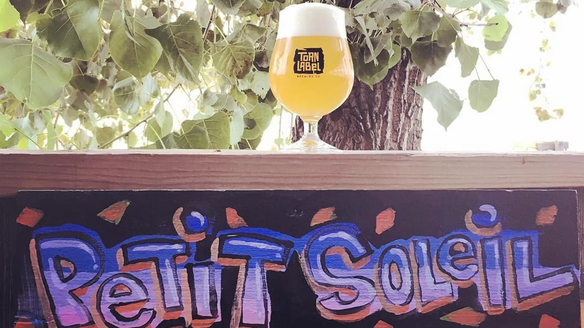 Torn Label Brewing's Petit Soleil