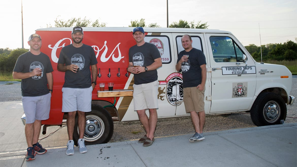 Touring Taps provides mobile beer taps.