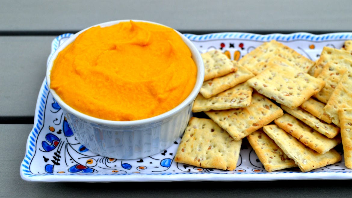 Lidia Bastianich's Carrot and Chickpea Dip
