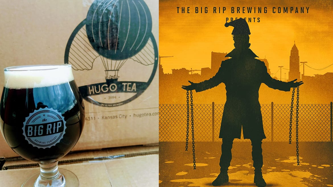The Big Rip Brewing Company releases Bacta Imperial Chai Brown Ale