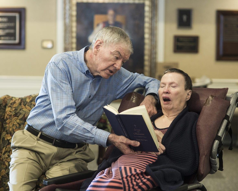 Bill Neaves and his wife, Priscilla