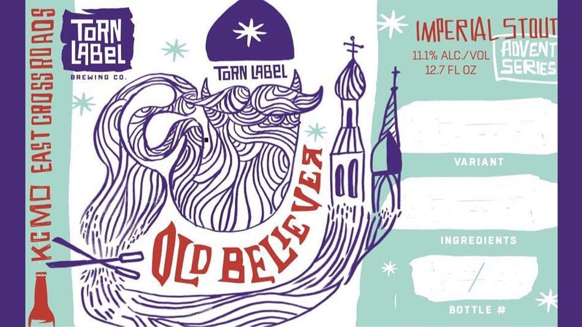 Torn Label's Old Believer Russian Imperial Stout