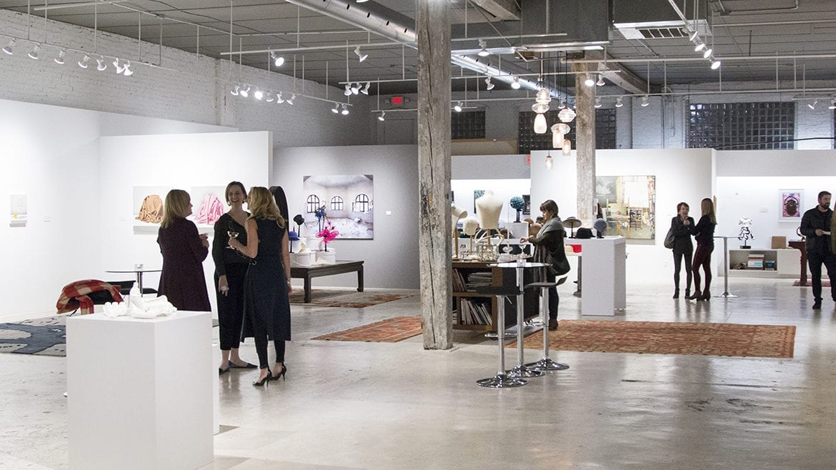the gallery hosted a trunk show on Nov. 30