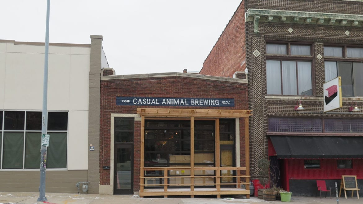 Casual Animal is located in the Crossroads