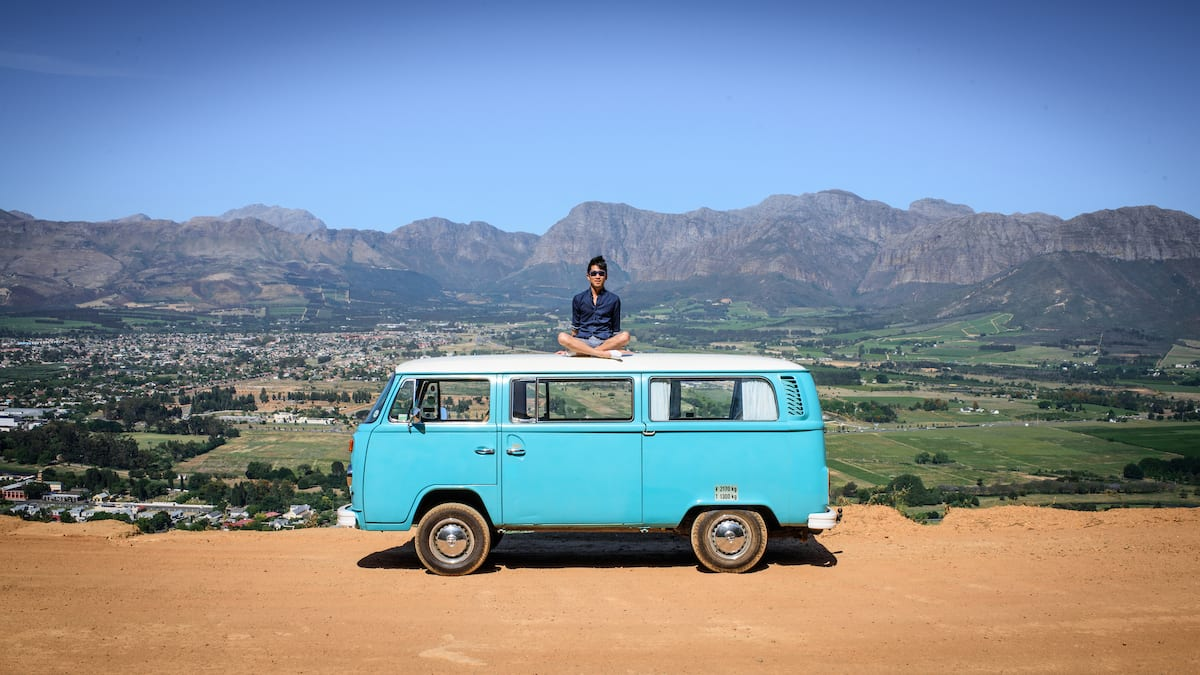 Bonjwing Lee traveled to Paarl, South Africa