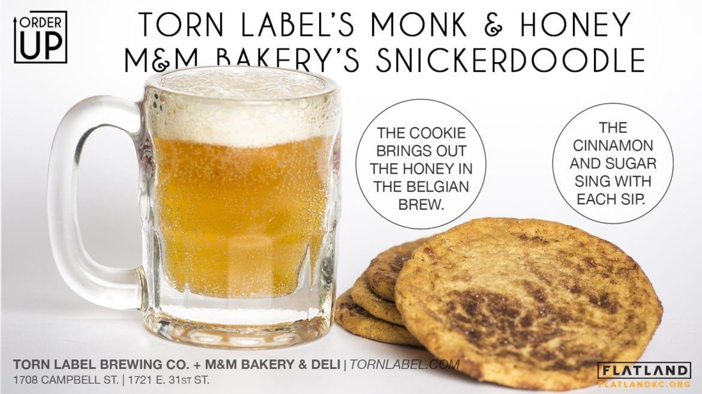 mug of beer and cookies