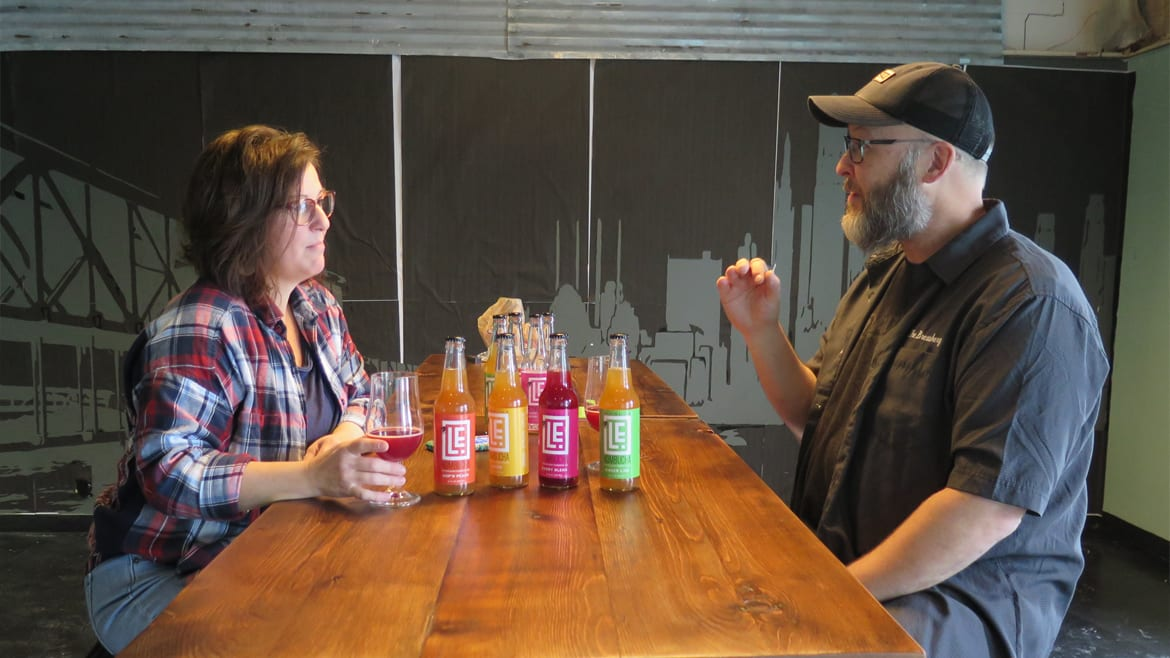 The Brewkery's co-owners Amy Goldman and Sean Galloway