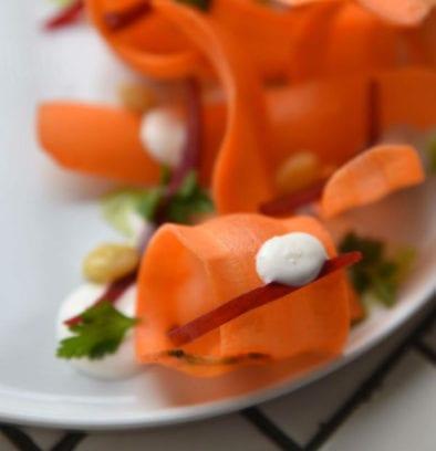 Creamy carrot sallad