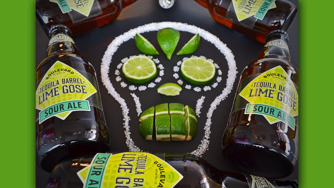 Boulevard Brewing's Tequila Barrel Lime Gose