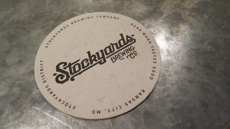 Stockyards Brewing Co. coaster