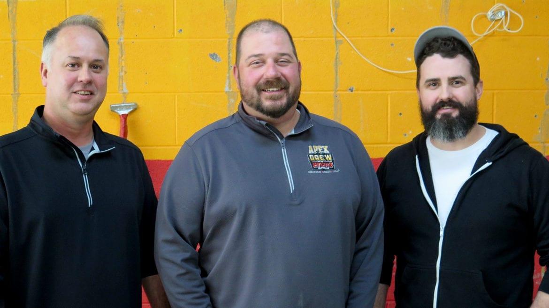 Tony DiPlacito, (left to right), Jeremy Parratt, and Josh Sartin