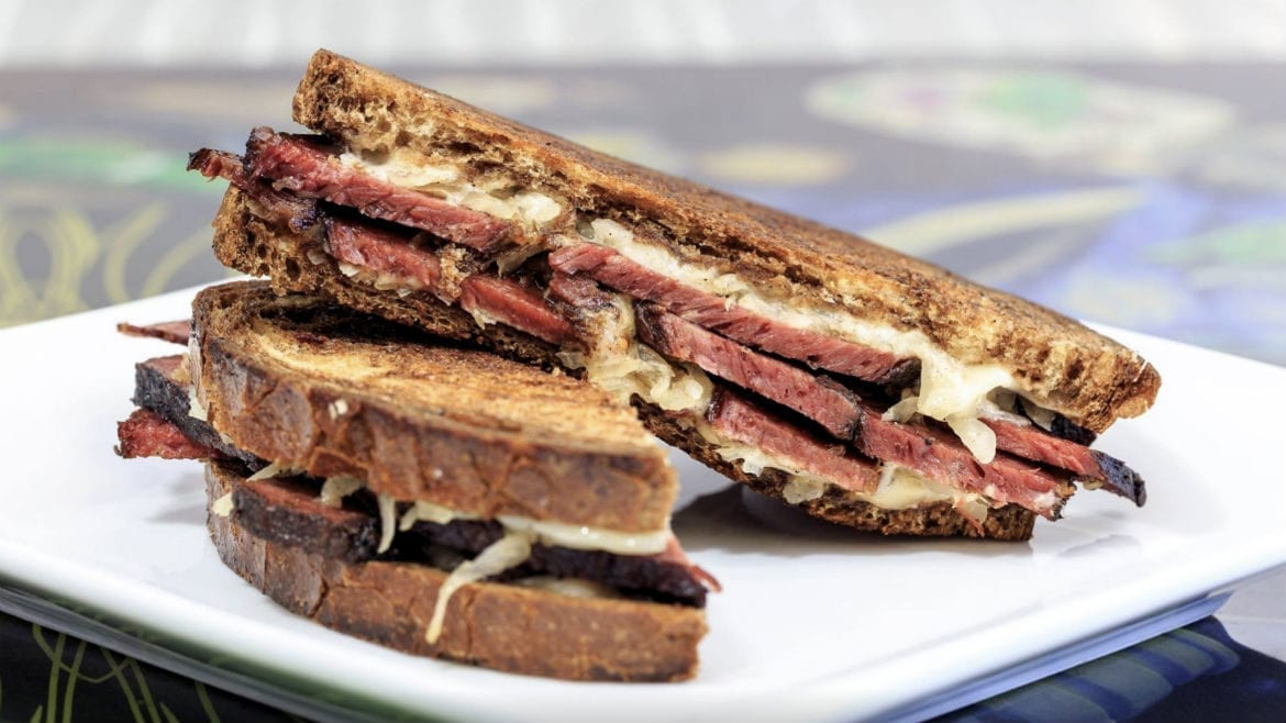 Mad Man's KC BBQ has a smoked Reuben