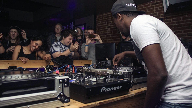 DJ Manny at Uptown Arts Bar