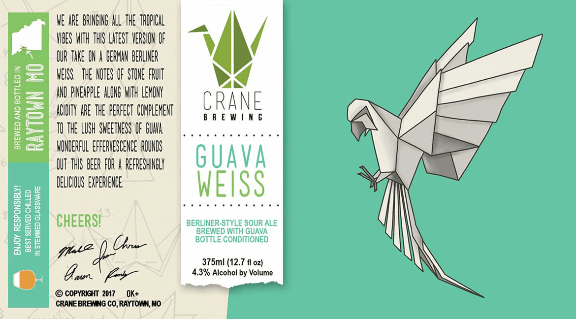 Crane Brewing releases Guava Weiss