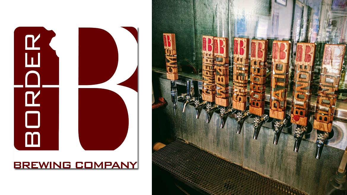 Border Brewing has new tap handles