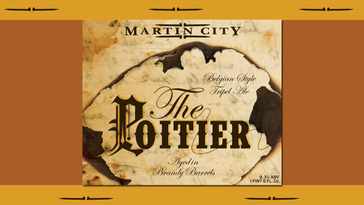 Martin City Brewing Company issues a limited release of Poitier