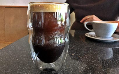 Pilgrim Coffee has nitro coffee