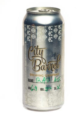 City Barrel will package beers in four-packs of 16-ounce cans.